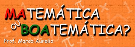 Matemática oi Boatemática