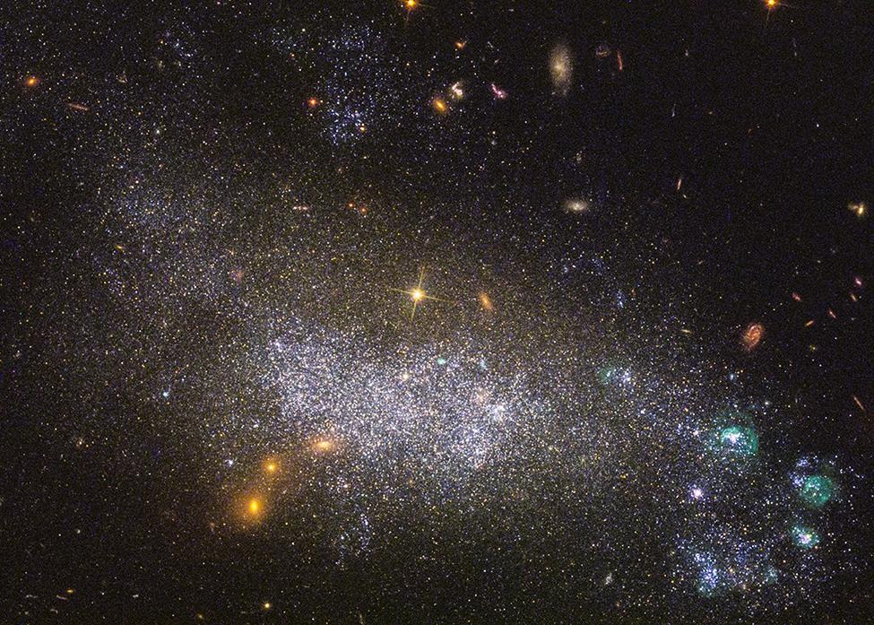 Descubra a foto que o telescópio Hubble tirou no dia do seu aniversário